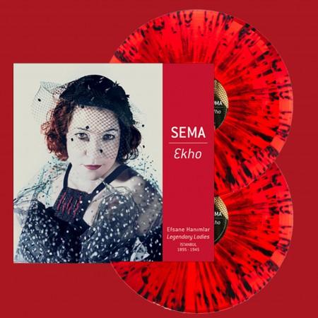 Sema Moritz: Ekho (Splatter Kırmızı Plak) - Plak
