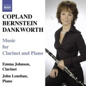Emma Johnson: Copland & Bernstein: Clarinet Sonatas - Dankworth: Suite for Emma & Picture of Jeannie - CD