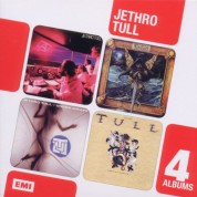 Jethro Tull: 4 CD Box Set (A / The Broadsword and the Beast / Under Wraps / Crest of a Knave) - CD