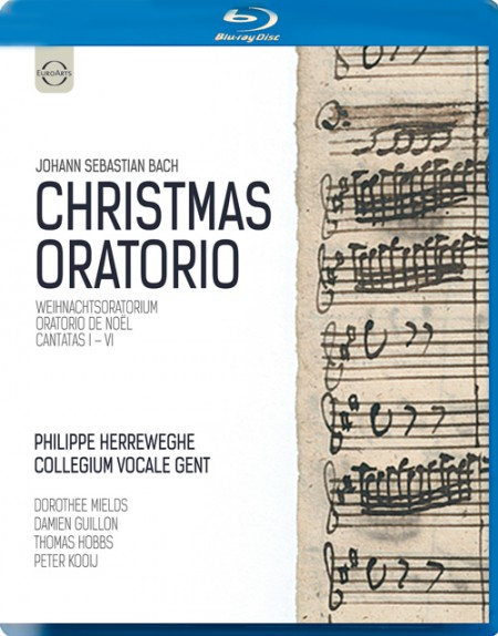Philippe Herreweghe, Collegium Vocale Gent: J.S. Bach: Christmas Oratorio - BluRay