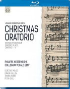 Philippe Herreweghe, Collegium Vocale Gent: J.S. Bach: Christmas Oratorio - BluRay