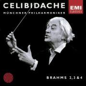 Sergiu Celibidache, Münchner Philharmoniker: Brahms: Symphonies Nos. 2, 3, & 4 - CD