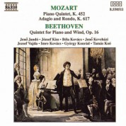 Mozart: Piano Quintet in E-Flat Major / Beethoven: Piano Quintet in E-Flat Major - CD