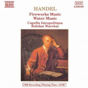 Capella Istropolitana: Handel: Music for the Royal Fireworks / Water Music - CD