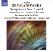 Warsaw Philharmonic Orchestra: Szymanowski, K.: Symphonies Nos. 1 and 4 / Concert Overture / Study in B-Flat Minor - CD