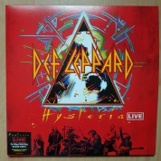 Def Leppard: Hysteria (Live At The O2 Arena) (Clear Vinyl) - Plak