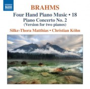 Christian Kohn, Silke-Thora Matthies: Brahms: Four-Hand Piano Music, Vol. 18 - CD