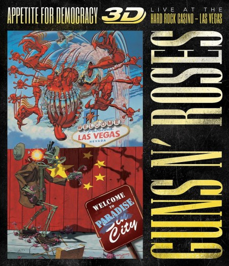 Guns N' Roses: Appetite For Democracy: Live At The Hard Rock Casino - Las Vegas - BluRay 3D