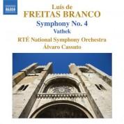 Alvaro Cassuto: Freitas Branco: Symphony No. 4 - Vathek - CD