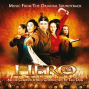 Tan Dun: Hero (Yellow & Orange Mixed Vinyl) - Plak