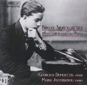 Georgios Demertzis, Maria Asteriadou: Skalkottas - Music for Violin and Piano - CD