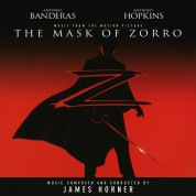James Horner: The Mask Of Zorro - Plak