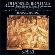Bernard Haitink, Chor und Symphonieorchester des Bayerischen Rundfunks: Brahms: Altrhapsodie, Gesang der Parzen - Plak