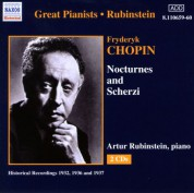 Artur Rubinstein: Chopin: Nocturnes and Scherzi (Rubinstein) (1936-1937) - CD
