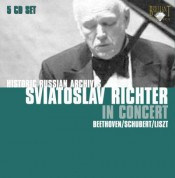 Sviatoslav Richter: Historical Russian Archieves - Richter plays Beethoven, Schubert, Liszt - CD