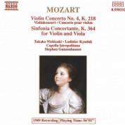 Takako Nishizaki: Mozart: Violin Concerto No. 4 / Sinfonia Concertante - CD