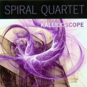 Spiral Quartet, Philippe Poussard: Kaleidoscope - CD