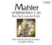 Gustav Mahler, Radio-Sinfonie-Orchester Frankfurt, Eliahu Inbal: Mahler: Symphonies 1-10, Das Lied von der Erde - CD