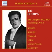 Schipa: The Complete 1922-1924 Recordings, Vol.1 - CD