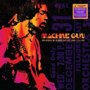 Jimi Hendrix: Machine Gun: The Fillmore East First Show 12/31/1969 - Plak