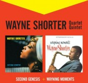 Wayne Shorter: Second Genesis + Wayning Moments + 2 Bonus Tracks - CD