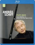 András Schiff: J.S. BACH: French Suite Nos. 1-6 / Overture (Partita) in the French Style - BluRay
