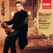 Maxim Vengerov, Verbier Festival Orchestra: Mozart: Violin Concertos Nos. 2 & 4; Sinfonia Concertante - CD