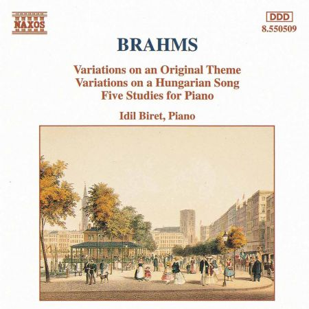 İdil Biret: Brahms: Variations, Op. 21 - 5 Piano Studies - CD