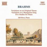 İdil Biret: Brahms: Variations, Op. 21 - 5 Piano Studies - CD