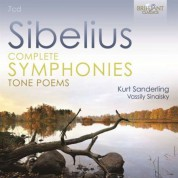 Berliner Sinfonie-Orchester, Kurt Sanderling, Moscow Philharmonic Orchestra, Vassily Sinaisky: Sibelius: Complete Symphonies and Tone Poems - CD