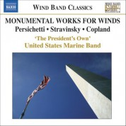 The President's Own United States Marine Band: Monumental Works for Winds - CD