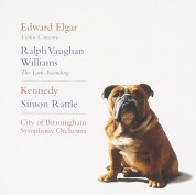 Nigel Kennedy, Sir Simon Rattle, City of Birmingham Symphony Orchestra: Elgar: Violin Concerto, Williams: The Lark Ascending - CD