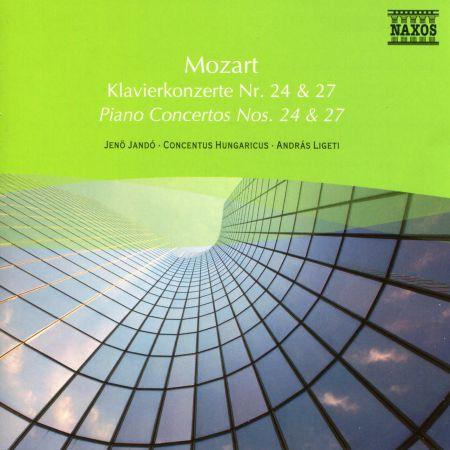 Jenö Jandó: Mozart: Piano Concertos Nos. 24 and 27 - CD