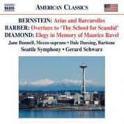 Gerard Schwarz: Bernstein - Barber - Diamond - CD