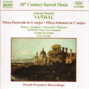 Uwe Grodd: Vanhal: Missa Pastoralis - Missa Solemnis - CD