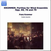 Krommer: Partitas for Wind Ensemble Opp. 69, 76 and 79 - CD