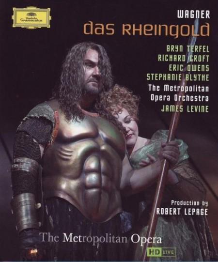 The Metropolitan Opera Orchestra, Patricia Bardon, James Levine, Richard Croft, Franz-Josef Selig, Gerhard Siegel, Bryn Terfel: Wagner: Das Rheingold - BluRay