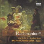Nikolai Petrov, Alexander Ghindin: Rachmaninoff - Petrov/Ghindin - CD