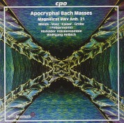 Dorothee Mields, Henning Voss, Henning Kaiser, Ralf Grobe, Alsfelder Vokalensemble, I Febiarmonici, Wolfgang Helbich: J.S. Bach: Apocryphal Masses - CD