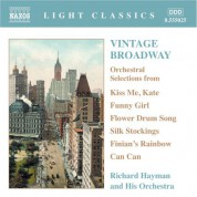 Richard Hayman: Vintage Broadway: Orchestral Selections - CD