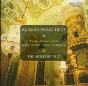 The Moscow Trio: Russian Piano Trios - CD