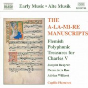A-La-Mi-Re Manuscripts (The): Flemish Polyphonic Treasures - CD