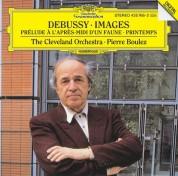 Pierre Boulez, The Cleveland Orchestra: Debussy: Images Après-Midi - CD