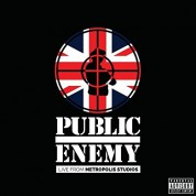 Public Enemy: Live from Metropolis Studios - Plak