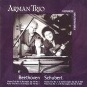 Arman Trio: Beethoven, Schubert - CD