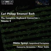 Miklós Spányi, Concerto Armonico, Péter Szűts: C.P.E. Bach: Keyboard Concertos, Vol. 4 - CD