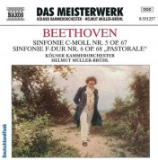 Helmut Muller-Bruhl: Beethoven: Symphonies Nos. 5 and 6 - CD
