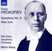 Marin Alsop, Sao Paulo Symphony Orchestra: Prokofiev: Symphony No. 6, Waltz Suite - CD