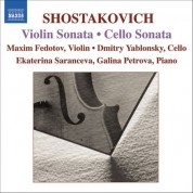 Shostakovich: Cello Sonata / Violin Sonata - CD