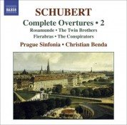Christian Benda: Schubert, F.: Overtures (Complete), Vol. 2 - CD